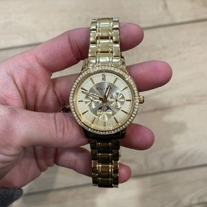 Eliza gold watch. New, no tags.